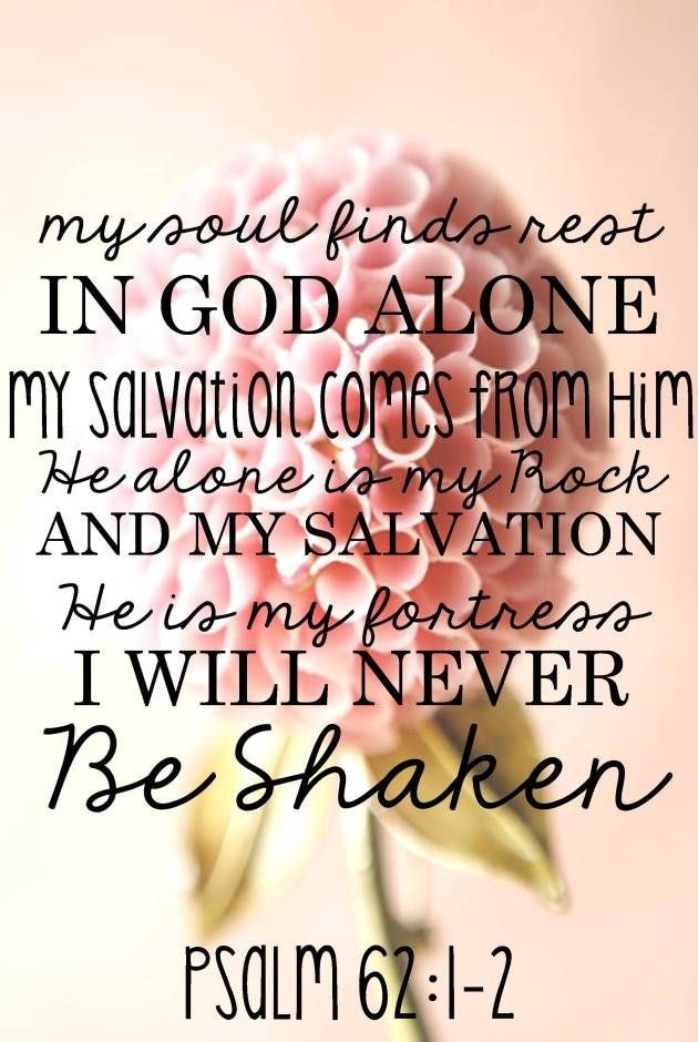 psalm 62v1n2