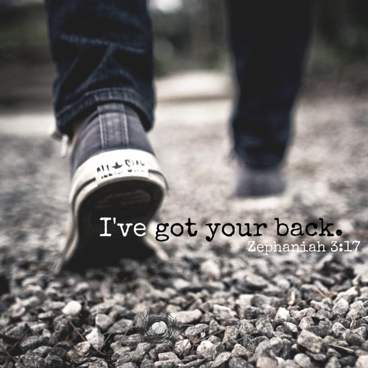 I've got your back.