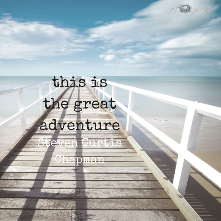 this isthe greatadventure