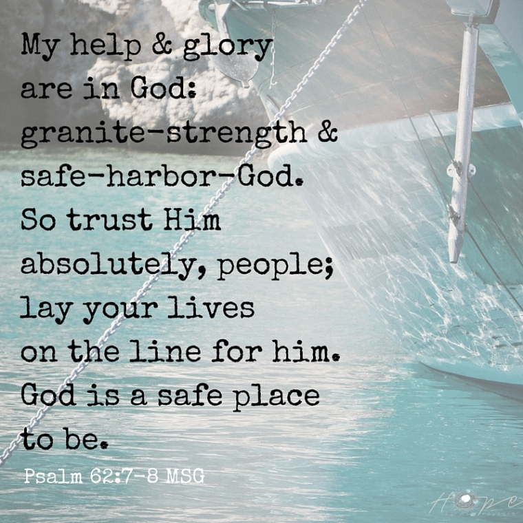 Copy of God, the one & only— I'll wait as long as He says. Everything I need comes from Him, so why not-