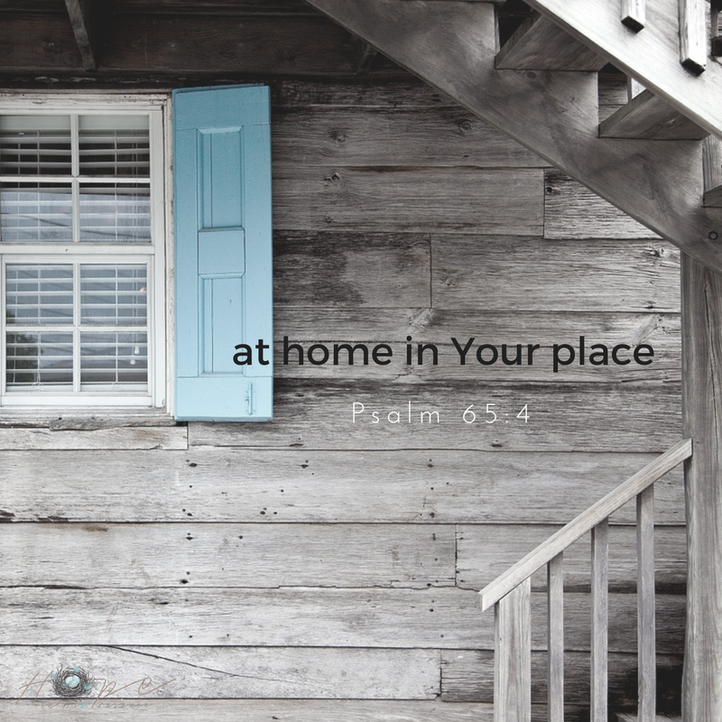 at home in Your place