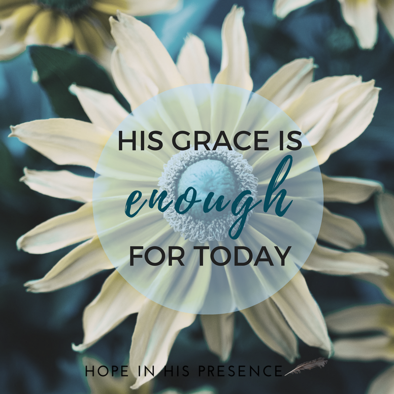 his-grace-isfor-today