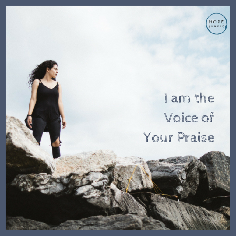 I am the Voice of Your Praise