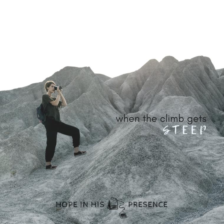 when the climb gets steep hihp 2019